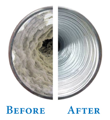 dryer vent cleaned by Air Duct Warriors
